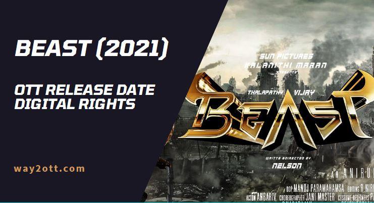 Beast tamil movie ott release date