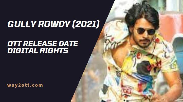 Gully Rowdy OTT Release Date