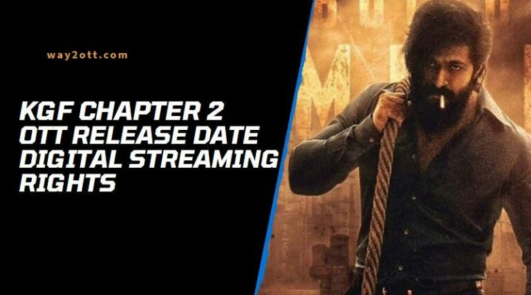 KGF Chapter 2 OTT Release Date